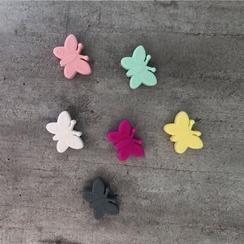 Modèles de papillon pour attache tétine personnalisée
