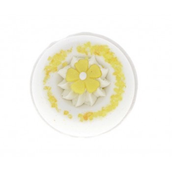 Boule de bain citron givre