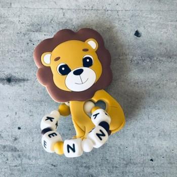 Anneau de dentition personnalisé Lion
