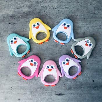 Modèles de pingouin pour anneau de dentition personnalisé