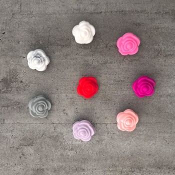 Modèles de Fleur pour attache doudou personnalisée