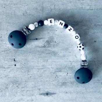 attache doudou personnalisée Ballon